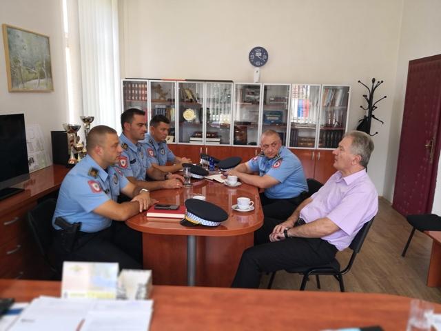 Radna posjeta načelnika Policijske uprave