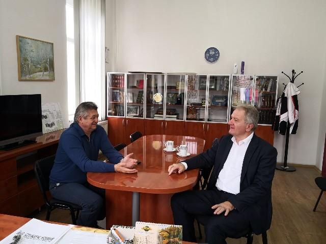 Radna posjeta gradonačelnika Bijeljine Mića Mićića opštini Trnovo