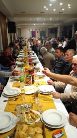 Lovci Sarajevsko-romanijske regije proslavili krsnu slavu