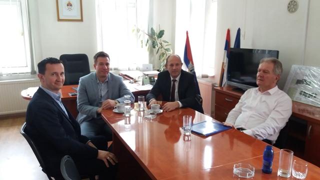 Radna posjeta gradonačelnika Trebinja Opštini Trnovo