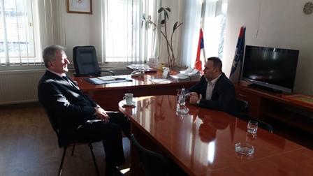 Radna posjeta predsjednika Saveza opština i gradova RS